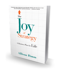 Joy of Strategy front cover