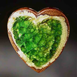 glass heart gifts