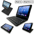 Innovative Flip Turn Case for iPad Air is Available in Color Choice of Black or Silver from Sunrise Hitek