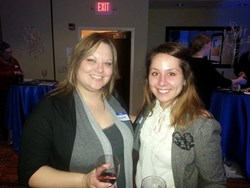 JangoMail employees at Clothes That Work networking event in Dayton.