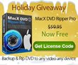 MacX Christmas Event in Full Swing - $2 Million Giveaway of MacX DVD...