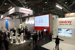 Mindray at MEDICA expo 2013