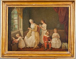 William Redmore Bigg (1755-1828), England Oil on canvas, 1780-1800 Gift of William Fahnestock, Jr. in memory of Mrs. Harry B. Hawes [1955.031.001]
