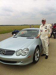 Allen Schwarzwalder, Ohio Mile, Mercedes SL500 Roadster, Corporate Marketing