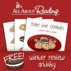 "Free ""Bake the Cookies"" reading and spelling activity"