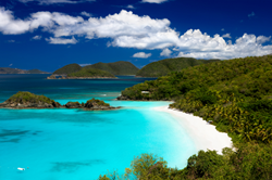 A photograph of Trunk Bay, St. John, US Virgin Islands