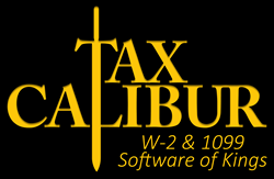 TaxCalibur W-2 & 1099 Software