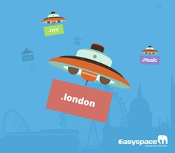 New Easyspace website for generic Top-Level Domains