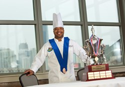 Moo & Oink's Corporate Chef  Dwight Evans II named 'Chef of the Year' by ACF Chicago Chefs of Cuisine