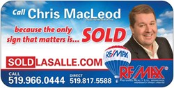 Chris Macleod RE/MAX Preferred Realty Ltd.