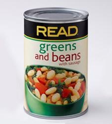 READ Greens & Beans