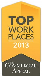 Data Facts Inc Named One of the Top Workplaces of 2013