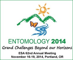 Entomology 2014, the 62nd Annual Meeting of the Entomological Society of America