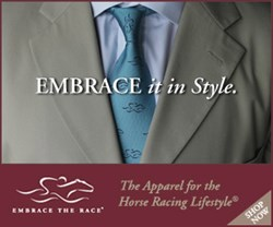 The class and allure of Horse Racing, brought to life by this beautiful tie from EMBRACE THE RACE®, The Apparel for The Horse Racing Lifestyle®.
