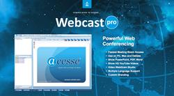 webcasting, webcast solution, webcast software, webcastpro, acesse, acesse marketing, acesse corporation, steve renner, acesse mobile, acesse advertising, virtual meeting