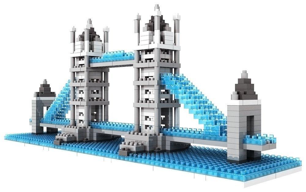 Loz micro blocks an innovative alternative to large expensive building sets - Lego architecture tour de pise ...