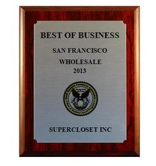 SuperCloset Awarded Best of Business 2013