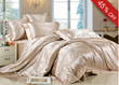 Bright Camel Pattern 4 Piece Bedding Sets with Silk Floss
