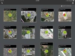 iPad screen example