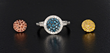 Interchangeable Diamond Ring
