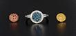 Interchangeable Diamond Ring