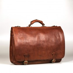 I Medici Cartellone Indy Italian Leather Briefcase, Messenger Bag