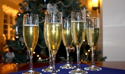 The Harborfront Inn's New Year's celebration package.
