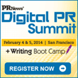 PR News Announces West Coast Digital PR Summit February 5 in San...