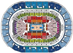 Chesapeake Energy Arena Seating Chart Parking And Oklahoma City