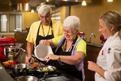 Hands on Cooking Class at Hilton Head Health