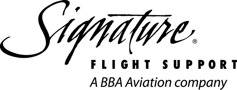 Sig Logo Black on Aircraft Repair Logo