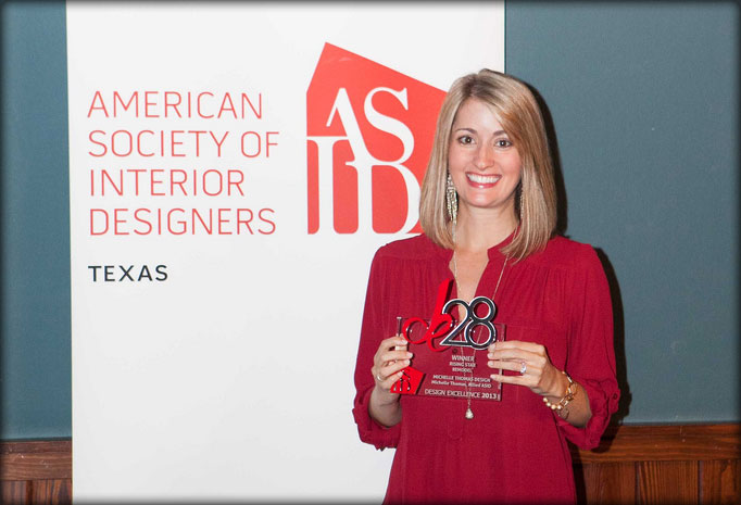 Michelle Thomas Wins ASID Award For Her Interior Design WorkAustin Designer Honor