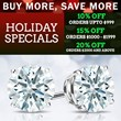 DiamondStuds.com Announces Their Buy More Save More Deal This Holiday...