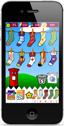 Odd Socks on iPhone