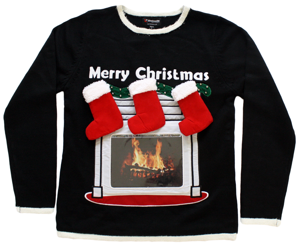 Jimmy Fallon Selects Newest Skedouche High-Tech Fireplace Sweater ...