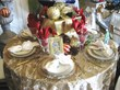Holiday Tables, Chairs, Linen, and China Rentals
