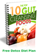 Body Cleanse Detox Diet Plan Features Top 10 Gut Cleansing Foods