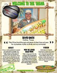 New Maui Wowi Franchisee in Texas