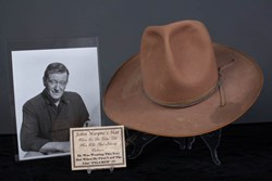 "The John Wayne Hat from ""The Man Who Shot Liberty Valance"" Featured on Pawn  Stars is Authentic 4074b5bcd3a"