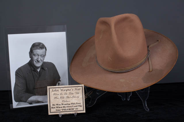 "The John Wayne Hat from ""The Man Who Shot Liberty Valance"" Featured on Pawn  Stars is Authentic 0e60410c8dc"