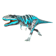 Grogron dinosaur in the WWD Dino Run game