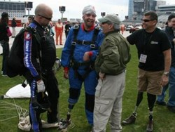 Wounded Warrior Skydive