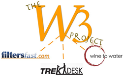 Global Water Crisis, Wine to Water, The W3 Project, Doc Hendley