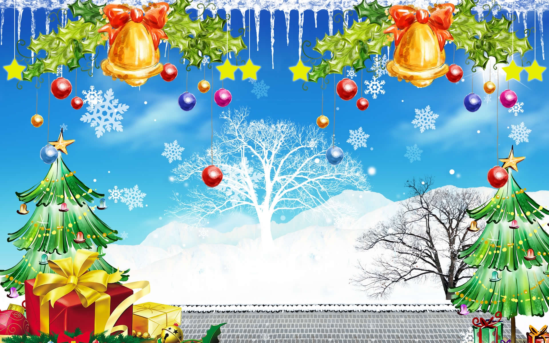 Beautiful christmas wallpapers revealed by daily gossip - Free christmas images for desktop wallpaper ...