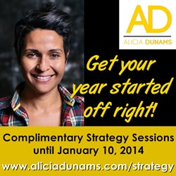 Alicia Dunams Offers Strategy Sessions for 2014