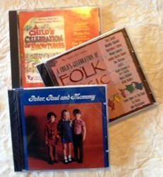 Music for little People sing along CD recordings for families with children.