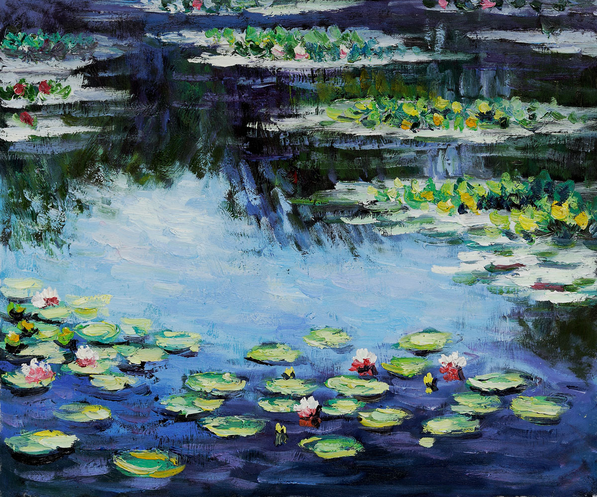 monet's water lilies and van gogh's Combined small-group tour focusing on vincent van gogh's final days in auvers-sur-oise and  including the water lilies  monet's house and garden and van gogh's.
