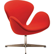 Nuevo Living HGEM234 Arturo Lounge Chair - Red