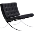 Nuevo Living HGGA101 Madrid Lounge Chair - Black