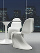 Zuo Modern S Chair White 103182